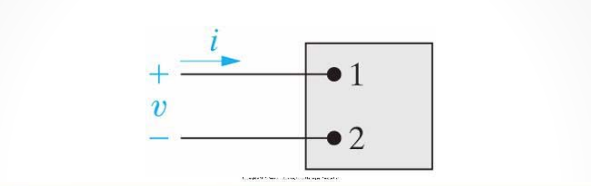Image of basic circuit element with flow